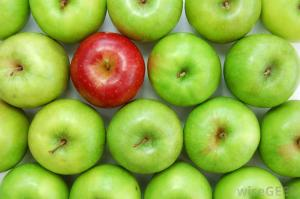 green-apples-with-one-red-apple